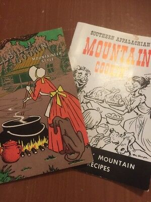 Hillbilly Cooking Mountaineer Style and Southern Appalachian Cookin PB Cookbooks
