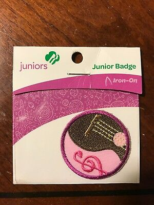 Girl Scout Junior Musician Patch