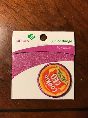 Girl Scout Junior Cookie Ceo Patch