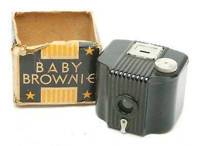 Vintage Kodak Baby Brownie 127 Film Camera. Untested F/Display Only.