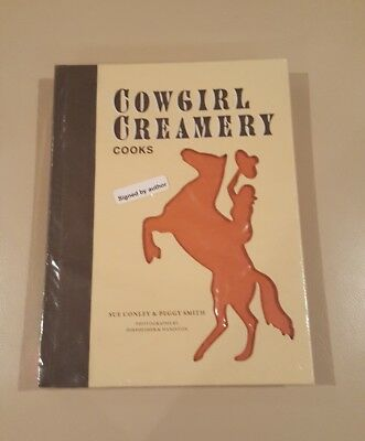 Cow Girl Creamery Cooks Book Signed By The Authors Sue & Peggy New! Hard Cover