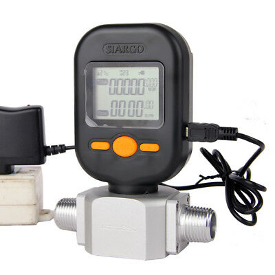 MF5712 Digital Gas Flow Meter 200L/min Mass Gas Air Nitrogen Oxygen Flowmeter