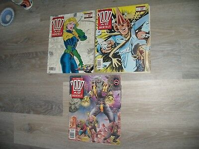 Best Of 2000Ad Monthly Nos. 53, 54 & 91 Judge Dredd Comic 1990&93 - Three Issues