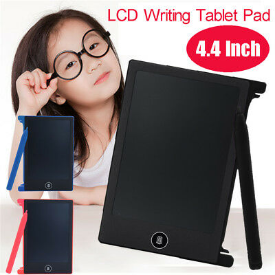 4.4inch LCD Writing Tablet Doodle Board Kids Writing Pad Drawing Graphics Board&