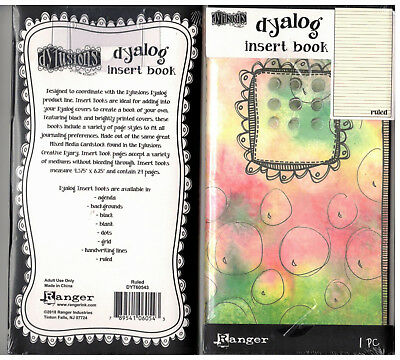 Dylusions Dyalog Insert Book - Ruled - 24 Pages