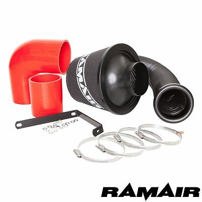 Ramair Cone Air Filter Intake Induction Kit Red Silicone for VW Golf R32 mk5