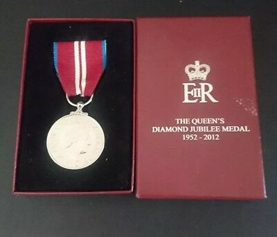 Queens Diamond Jubilee Medal 1952 - 2012