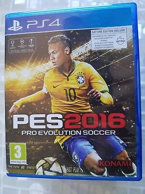 Ps4 Sony Playstation 4 Pes Pro Evolution Soccer 2016