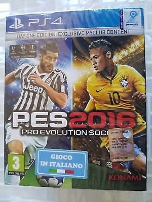 Ps4 Sony Playstation 4 Pro Evolution Soccer 2016 Pes 2016 Sealed