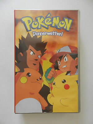 VHS Video Kassette Pokemon Donnerwetter
