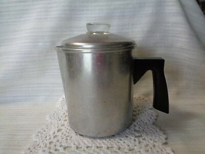 Vintage Camp Small Coffee Pot - Complete