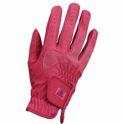 Busse Riding Gloves Children's Classic Stretch Elastic Glove Spicy Coral