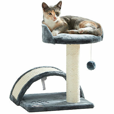 Milo & Misty Cat Bed Scratching Post & Activity Tree Sisal & Scratcher Play Toy