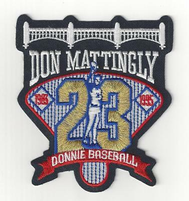 3d9275a448a371 Don Mattingly Retirement Sleeve Patch New York Yankees Donnie Baseball