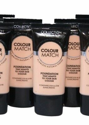 3 x Collection Colour Match Foundation Tubes | Porcelain | RRP £9 | Wholesale