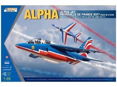 Kinetic K48064 - 1:48  Alpha Jet Patrouille de 2017 2-in-1 kit  - Neu
