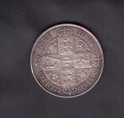 1871 Great Britain Silver Florin