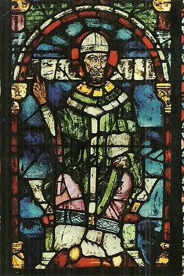The 'becket' Stained Glass Window - Canterbury Cathedral, Canterbury, Kent.