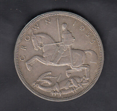1935 Great Britain Silver Crown