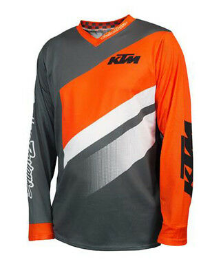New Oem Ktm By Tld Gp Air Jersey Mens Gray/orange/white S-2Xl 2019 Upw192310X