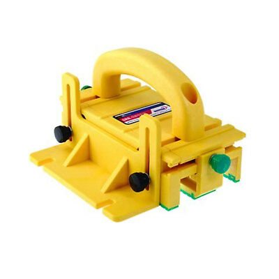 Microjig GR100 Woodworking Tool 3 Directional Table Saw 3D Pushblock, Yellow