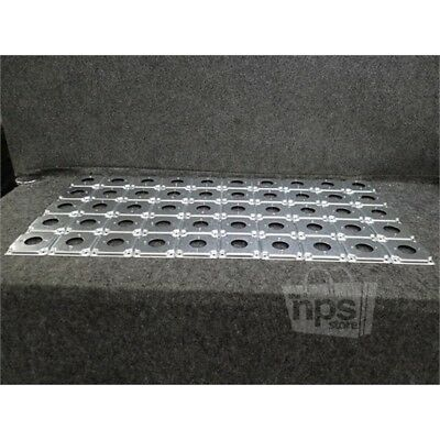 """Box of 50 Eaton TP519 Crouse-Hinds Square Surface Cover, 4"""", Steel"""