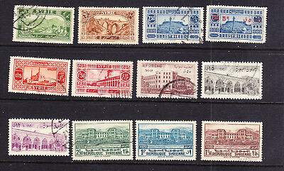 Syria postage stamps -12 x  Used - Collection odds