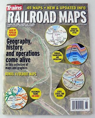 "Trains Magazine ""Railroad Maps"" (Special Issue #3 2018)"