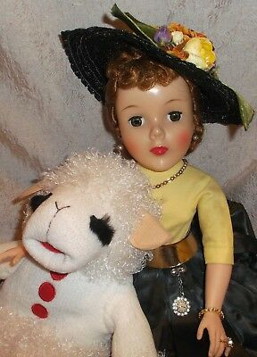 "1959 SHARI LEWIS Madame Alexander Cissy sz 21"" Marked & tagged original clothes"