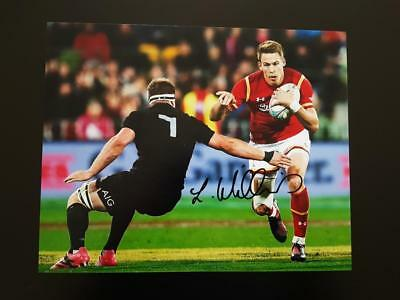 Liam WILLIAMS signed Wales Rugby 8x10 Photo AFTAL Dealer 135