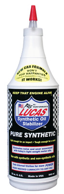 Lucas Heavy Duty Pure Synthetic Oil Stabilizer Oil Treatment 1 Quart 10130