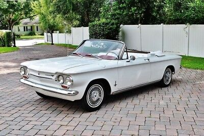 Chevrolet Corvair Monza Convertible 1963 Chevrolet Corvair Monza Convertible 4 Speed 6 Cylinder