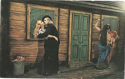 MUSEE CONTI WAX MUSEUM Basin Street New Orleans Storyville Postcard
