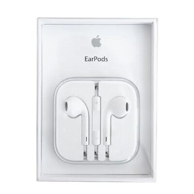 Authentic OEM Apple Earpods W/ Remote & Mic For iPhone 6S 6 Plus 5SE 5C 5