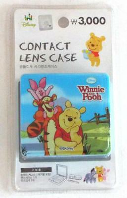 Official Disney WINNIE The POOH Contact Lens Case  Imported from Korea