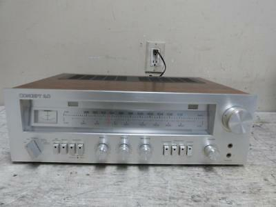 Vintage CONCEPT Model 2.0 AM/FM Stereo Receiver Made In Japan ~ FREE SHIPPING