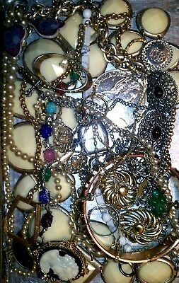 Huge Vintage & Now Jewelry Lot Estate Find Junk Drawer UNSEARCHED UNTESTED#next1