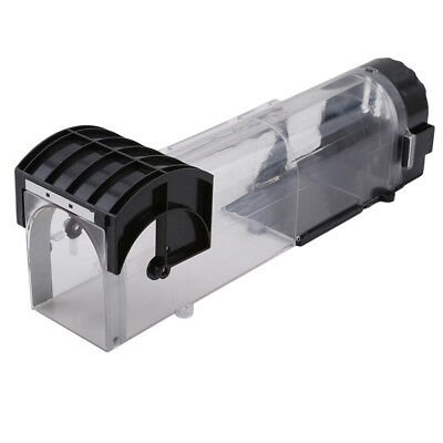 Mouse Pedal Trap Cage Medial Transparent Plastic Squirrel Cage Blower NB