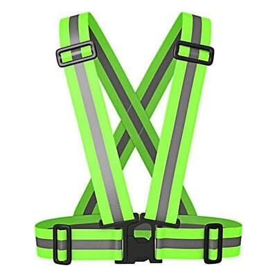 NEW Reflective Safety Vest with Adjustable Strap