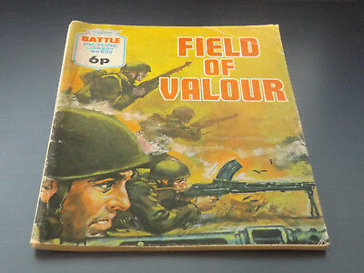 BATTLE PICTURE LIBRARY NO 600,dated 1972!,V GOOD FOR AGE,VERY RARE,46 yrs old.