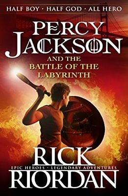 Percy Jackson and the Battle of the Labyrinth (Book 4)-Rick Riordan
