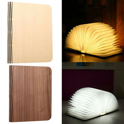 For Decor/Home/Office Folding Table Lamp LED Outdoor Rechargeable Book Light