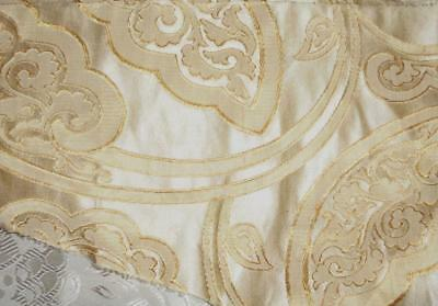 SUMMER CLEAROUT, BEAUTIFUL 19th CENTURY FRENCH SILK BROCADE, REF, 116.