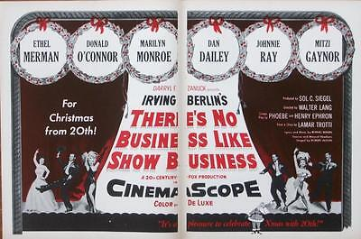 Marilyn Monroe There's No Business Like Show Business Orig Trade Ad