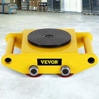 Industrial Machinery Mover with 360°Rotation Cap 13200lbs Dolly Skate Swivel Top