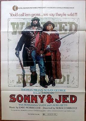 Spaghetti Western Star Thomas Tomas Milan Susan George Orig Sonny And Jed Us 1S