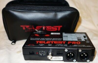 Teletest Pro cable and screen tester