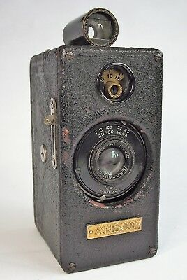 Historic ANSCO MEMO, c.1927 35mm 'Half-frame' camera.
