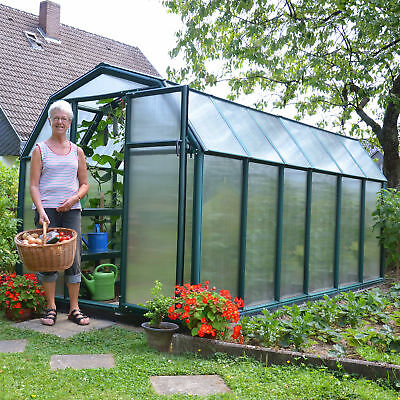 Rion Greenhouses EcoGrow 2 Twin Wall 6 Ft. W x 12 Ft. D Greenhouse