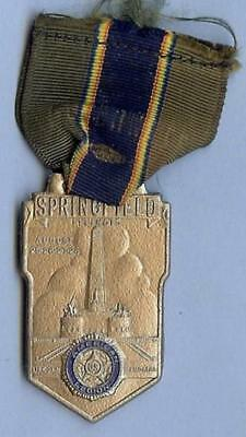 American Legion Medal, Delegate to Springfield, IL, Convention, August 19??